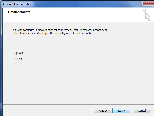 Setting Up Your POP or IMAP Email Address in Microsoft Outlook. Ms outlook e-mail configuration in simple steps.