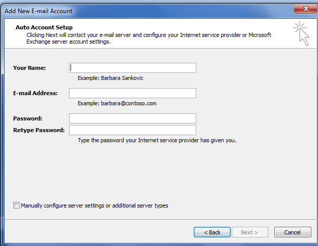 how to find outlook imap