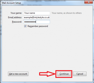 How to Setting Up Your POP or IMAP Email Address with Mozilla Thunderbird