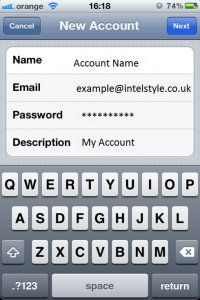 How to Set Up POP / IMAP Email on Iphone. Email Setting Iphone Pop.