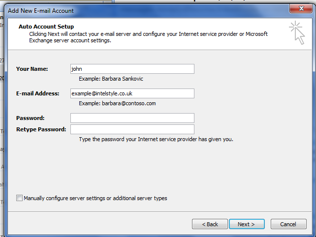 How to add another email account to existing Microsoft Outlook. Microsoft Outlook Add New Account.,New E-mail address