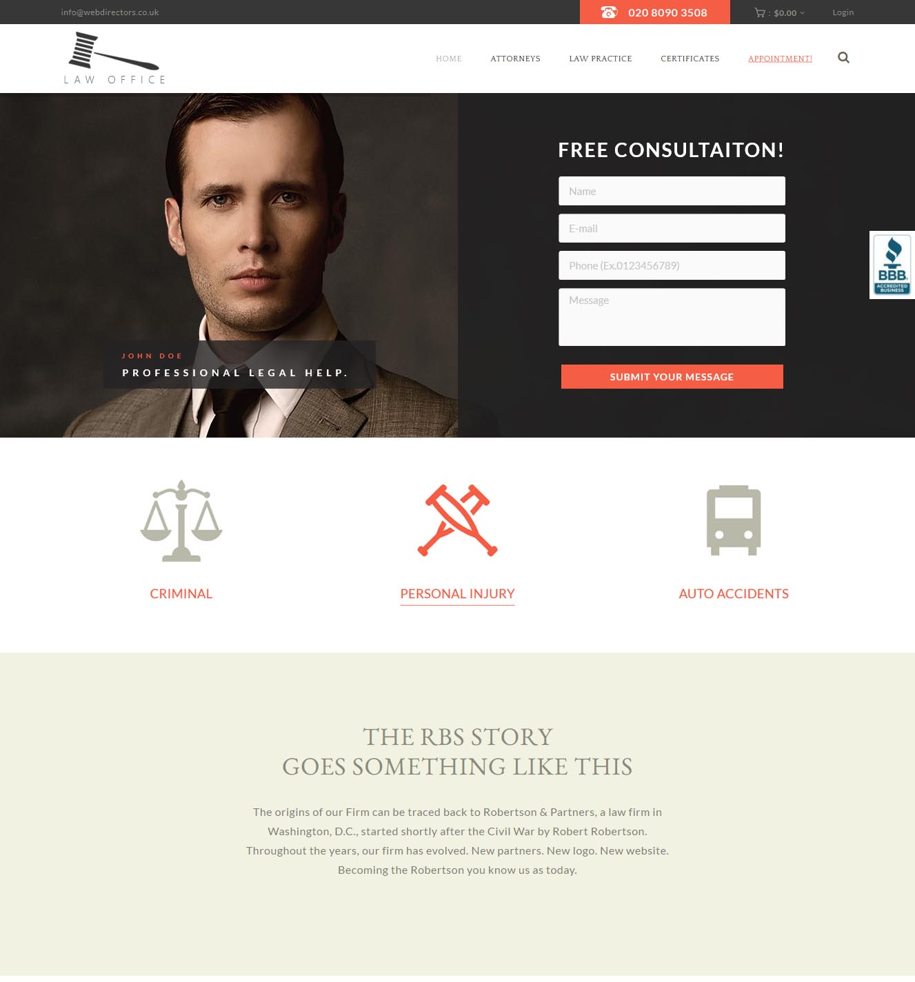 001 - Lawyer (Landing Page Thumb)_