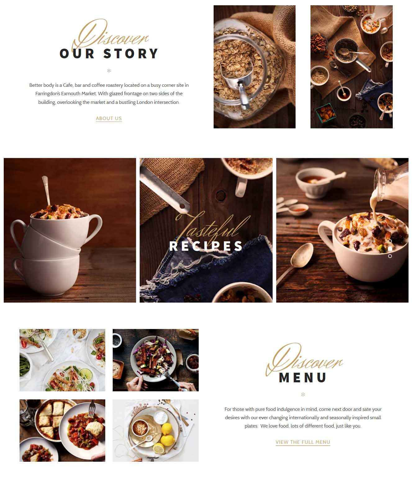 01 - Cafes - Our Story