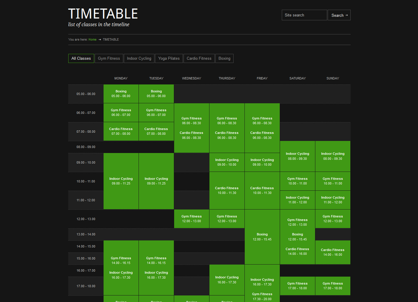 GYM-BASEMENT-TIMETABLE