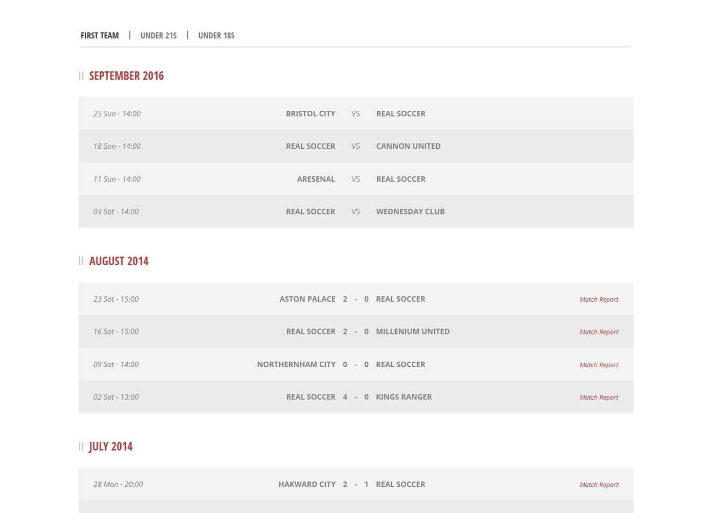 KHI_UNITED-Fixtures-Results