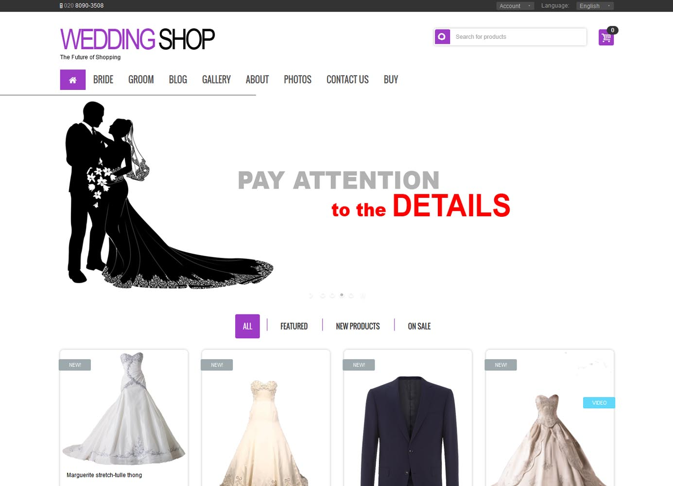 Wedding-Shop-Home