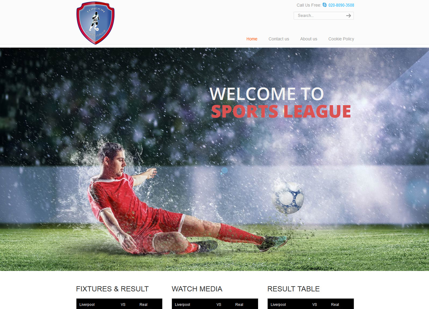 Sports-League-Home