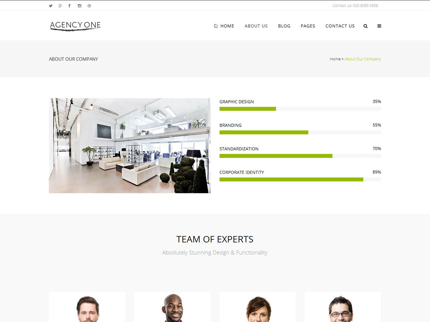 agency one bespoke website design-about