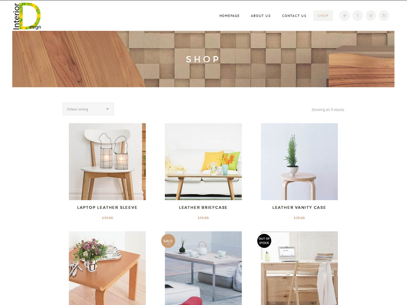 interior-ecommerce web design-shop