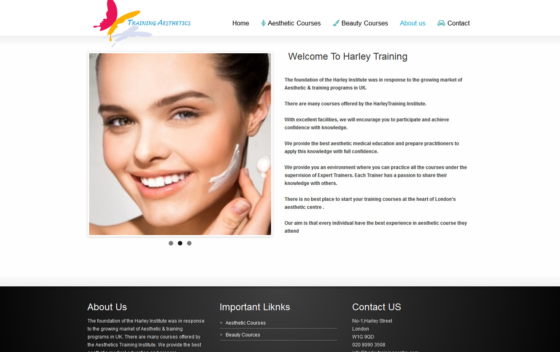 Harley Training Centre | Aesthetic Training Centre | About Us